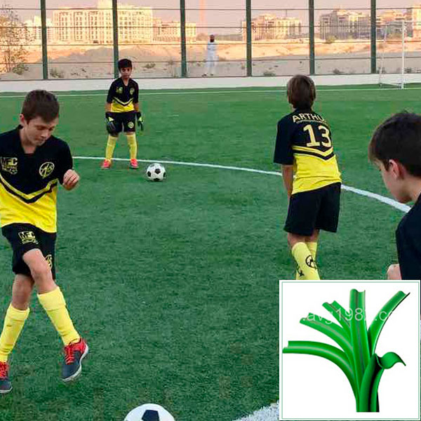 искусственный газон для футбола, модель: SWARD 50 (VV)