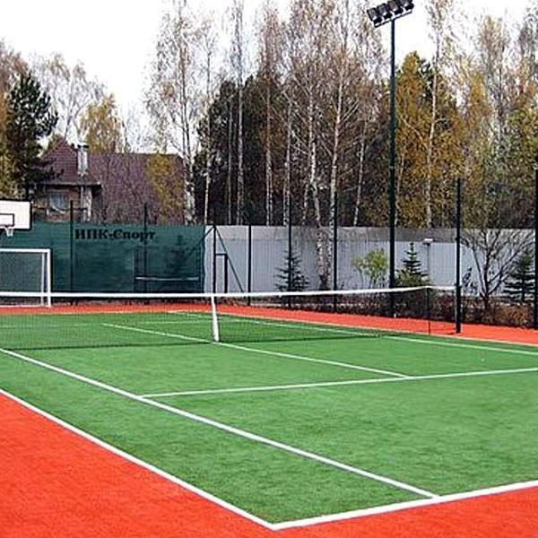 искусственный газон для тенниса, модель: LAEF-155288-20