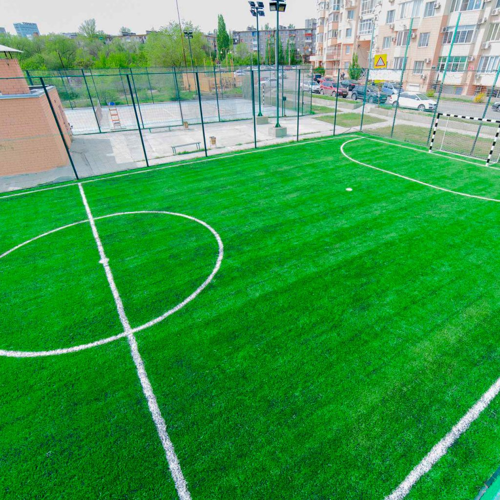 искусственный газон для футбола со склада, модель: КР-1