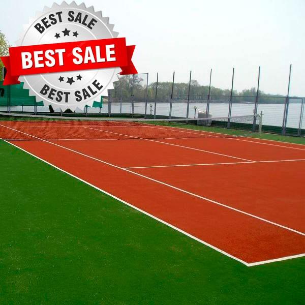 искусственный газон для тенниса, модель: FQEF- 203488-26