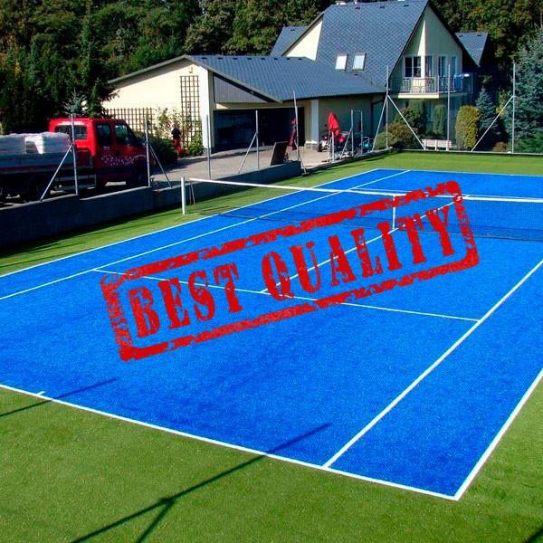 искусственный газон для тенниса, модель: Тн-4 Сертификат ITF