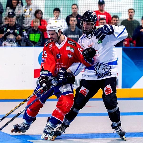 покрытие для инлайн- хоккея